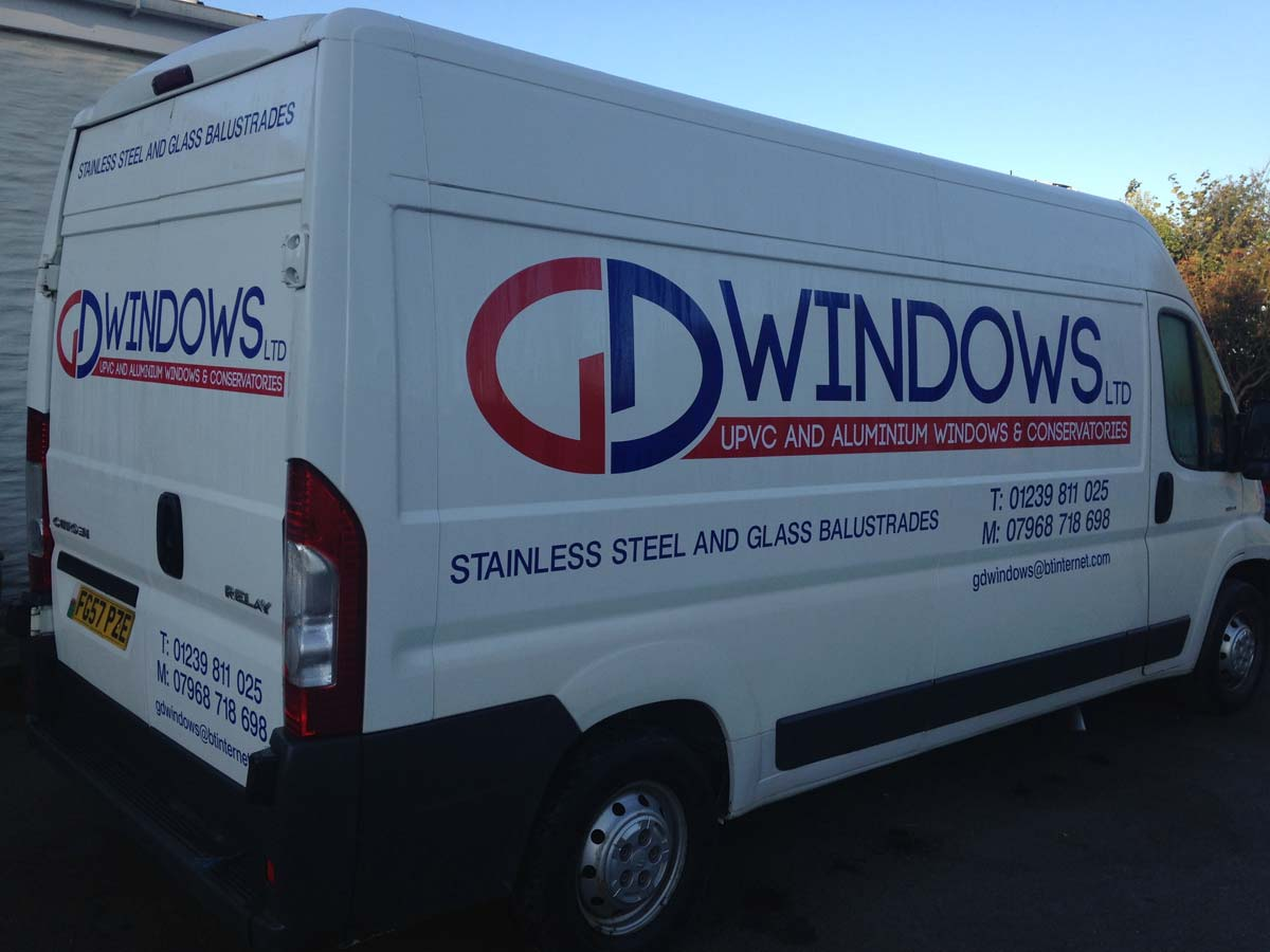 GD Windows Ltd Van
